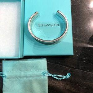 Tiffany & Co. 1837 sterling silver cuff bracelet